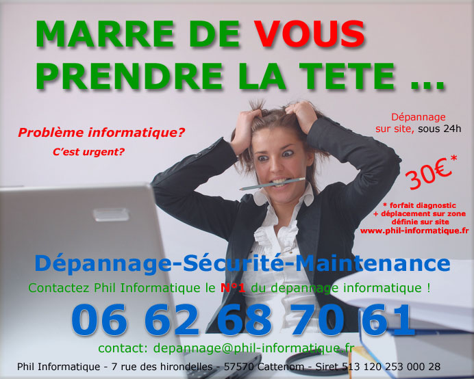maintenance informatique Hettange Grande